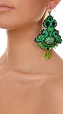 pendientes DUALITY green01