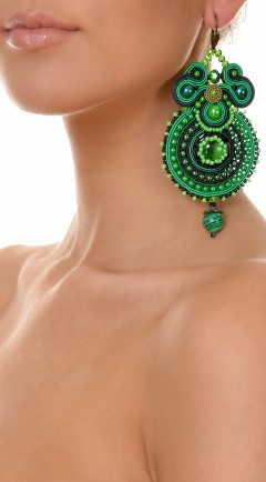 pendientes DUALITY green02
