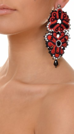 pendientes DUALITY red02