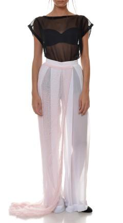 pantalones White
