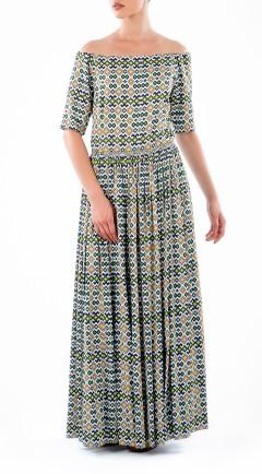 Vestido LOOK 16 print